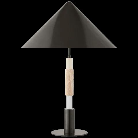 Mira Medium Stacked Table Lamp Lamp Table Lamp Mercury Glass Table Lamp