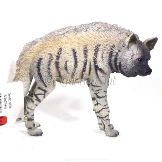 COLLECTA 88566 Striped Hyena Miniature Animal Figure Toy
