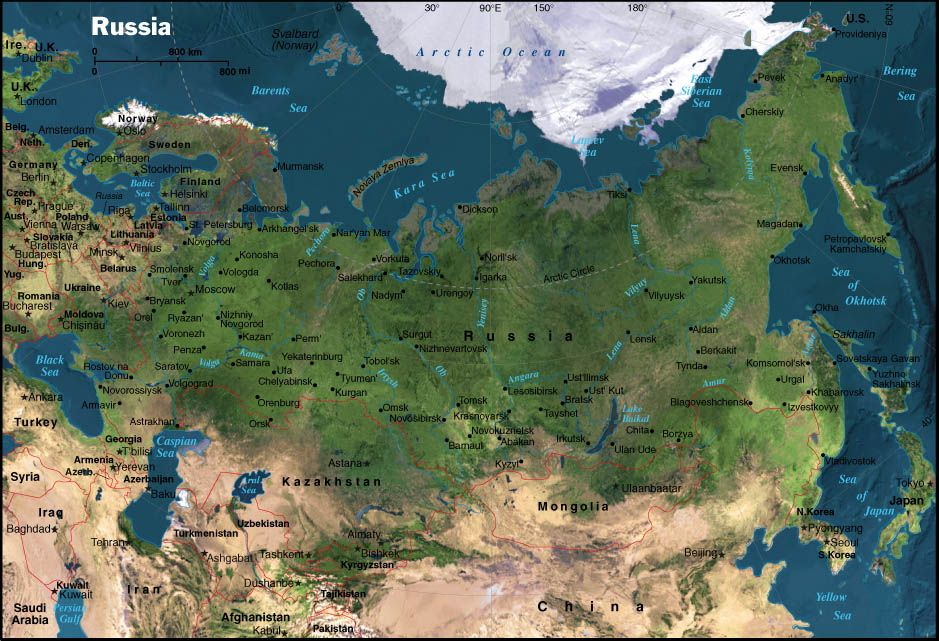 Russia Map Map Russia Travel Pinterest Russia Free Maps - Map of russia