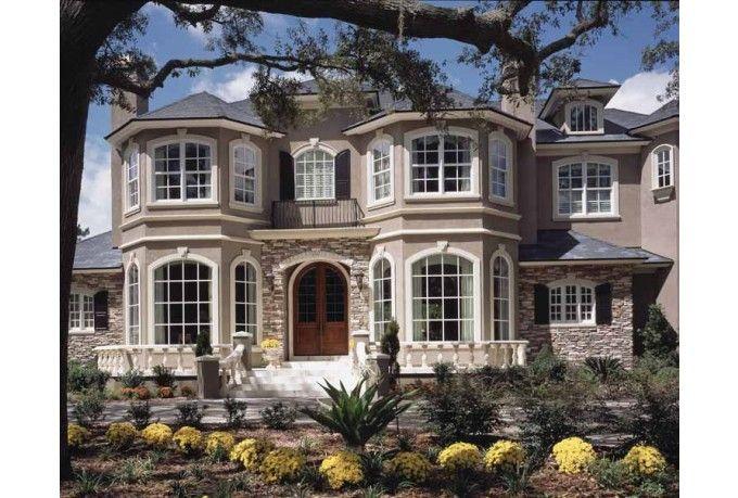 Planos de casa de lujo de dos niveles casas planos fachadas pinterest planos de casa - Planos casas de lujo ...