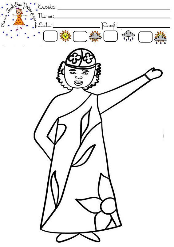 Caixinha Magica De Ideias Desenhos Para Colorir Cultura