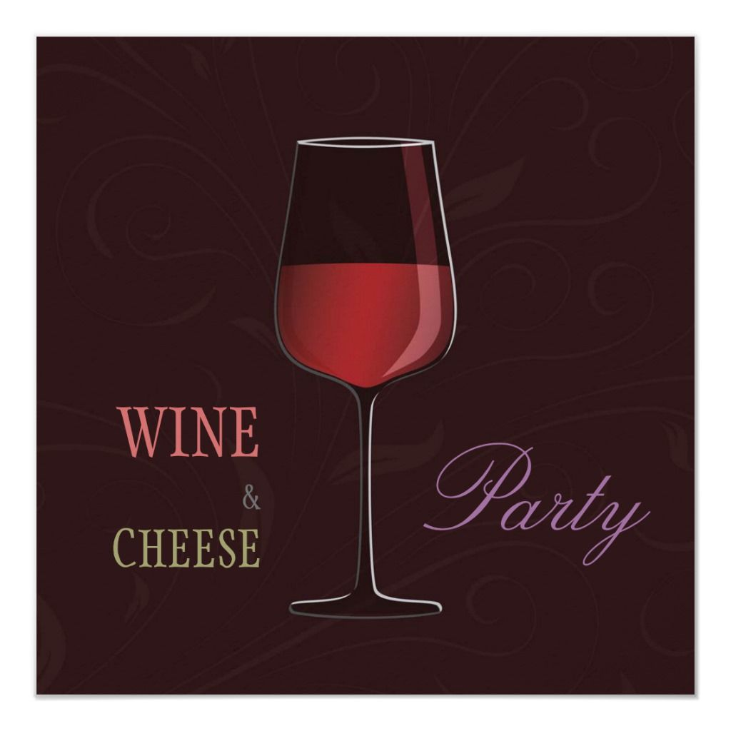 Wine And Cheese Party Personalized Invitation Zazzle Com Cheese Party Wine And Cheese Party Personalized Invitations