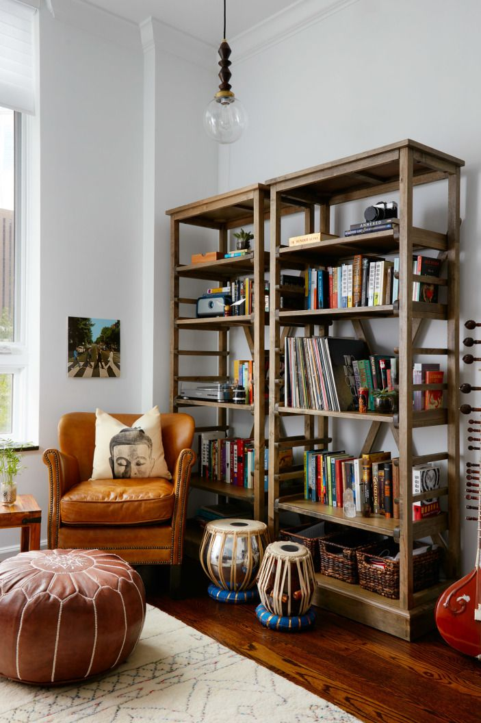 Modern History Comes to Chicago | Living room | Home decor