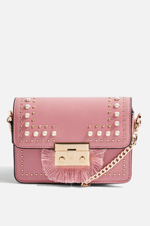 e5a923813113 Rosie Pearl Fringe Cross Body Bag
