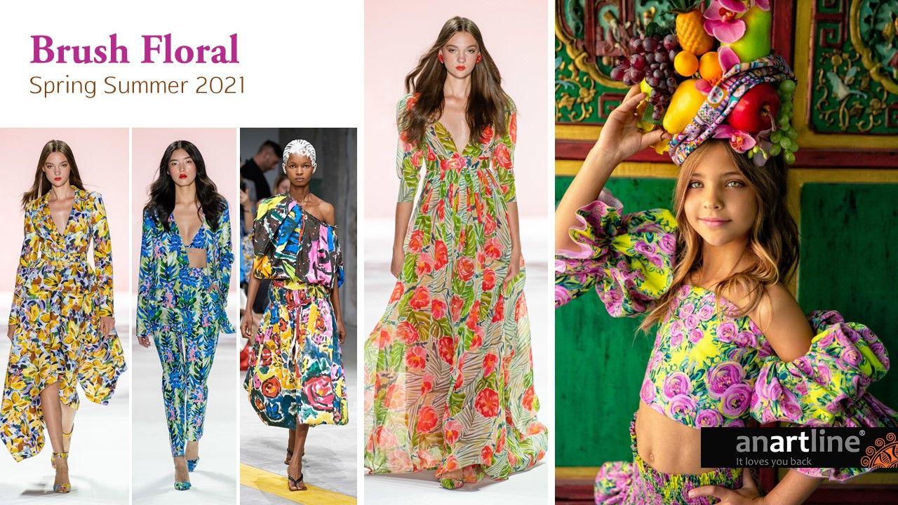 Print Forecast Spring Summer 2021 in 2020 | Spring floral ...