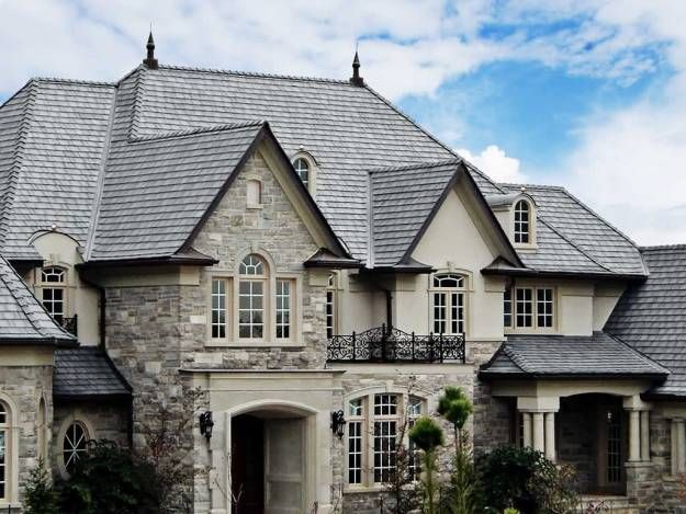 Best Synthetic Composite Slate Shake Roofing Costs Davinci 400 x 300