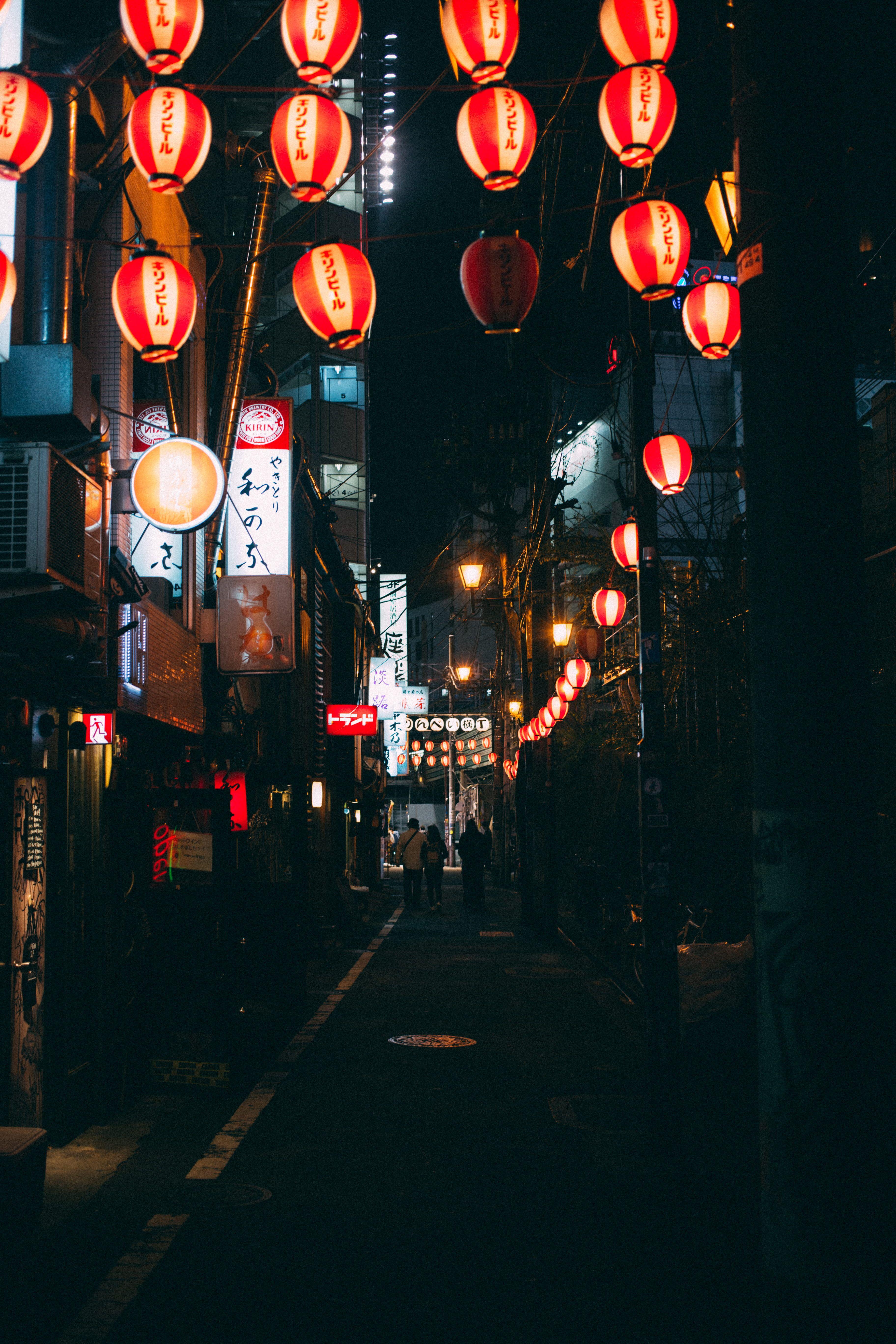 japan tokyo japanese lights nightlife shibuya 5K