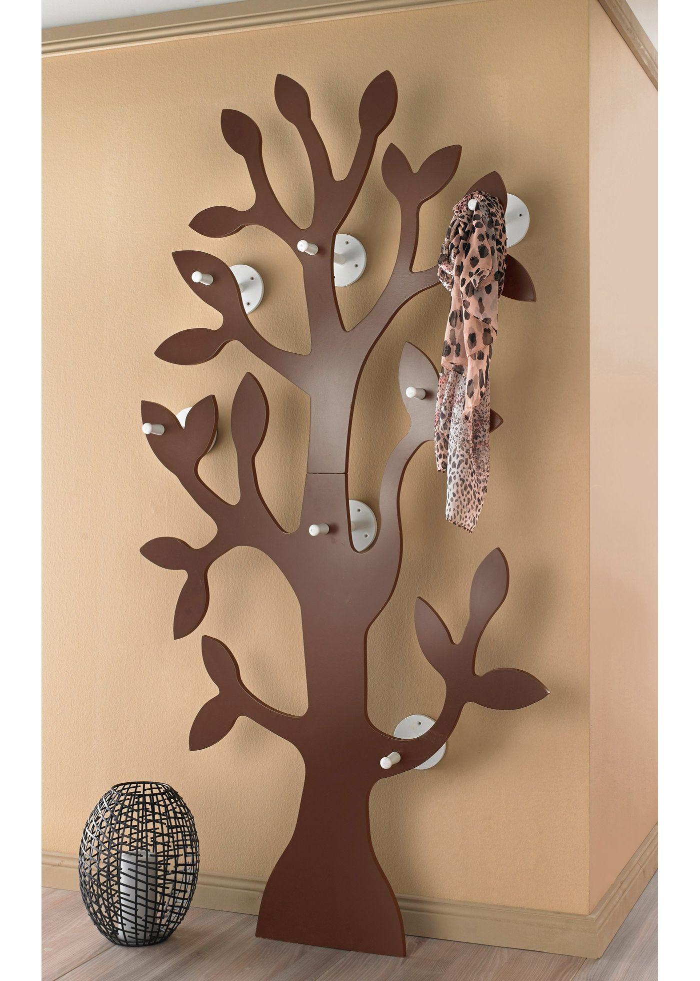 Garderobe Baum Kleiderstander Flurmobel Kleiderhaken Hutstander