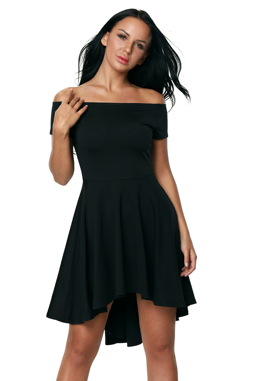 Black All The Rage Skater Dress #silvesteroutfitdamen Black All