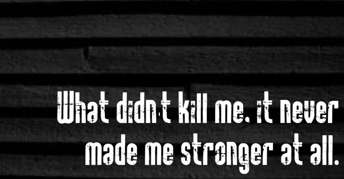 Ed Sheeran - Drunk - this is true. Like fairly sure I could fall apart in about 5 seconds and it wouldn't be any easier to fix myself...