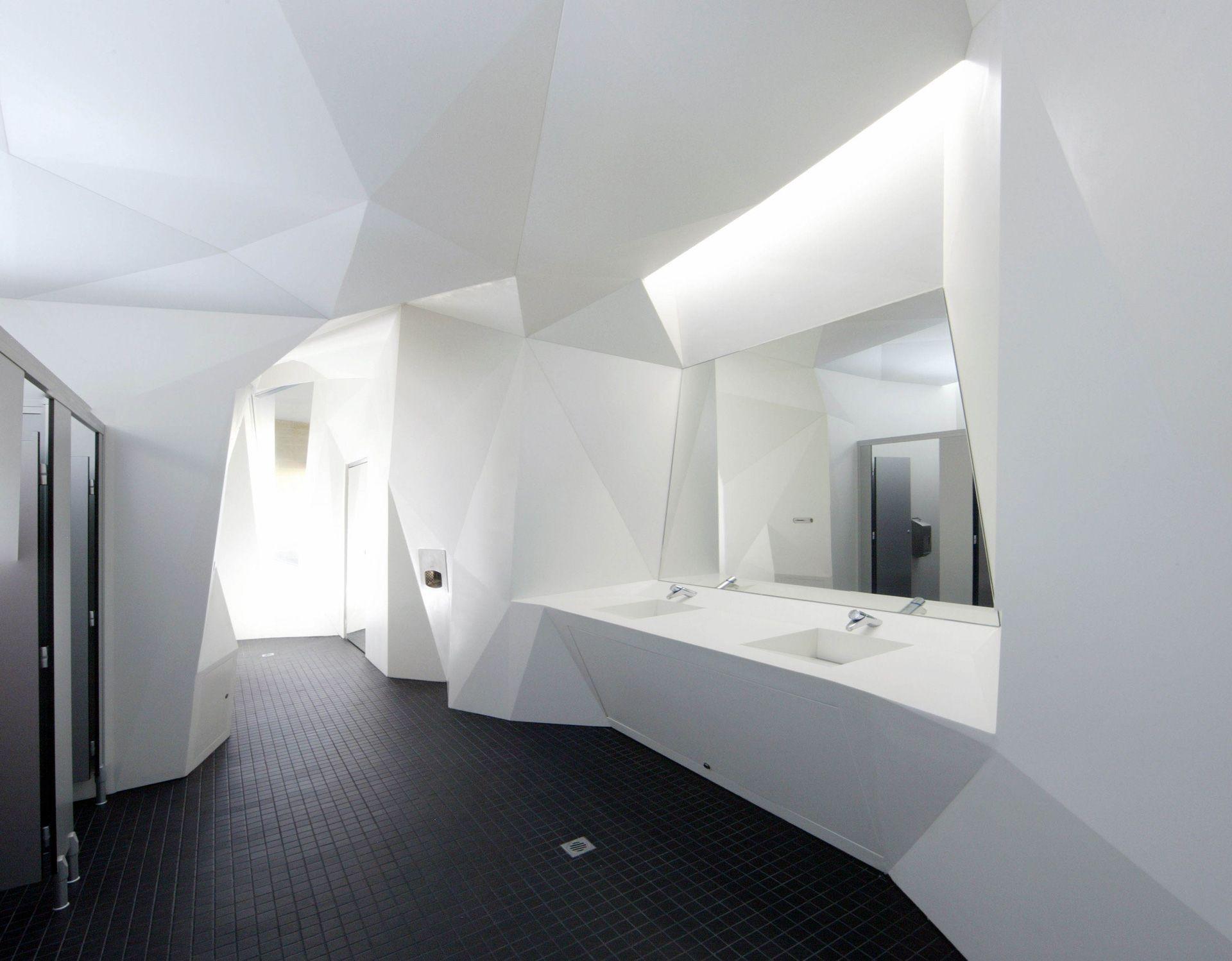 Perth Cultural Centre Precinct | Corian | Bathroom design ...