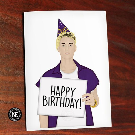 I Believe Its Your Birthday Pop Culture Birthday Card Lily
