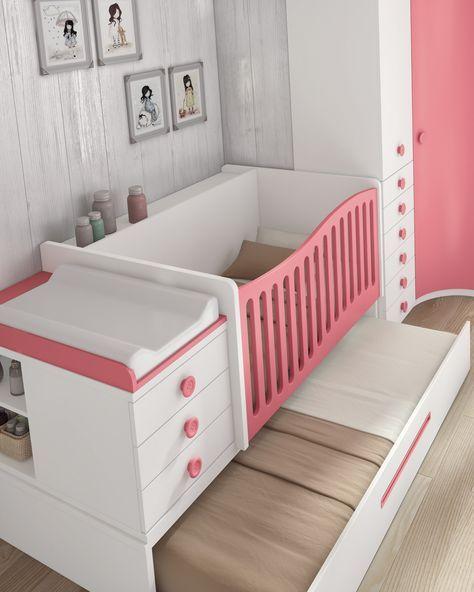 Cuna convertible + cama nido + Armario -> 1.717€ | Pregnancy ...