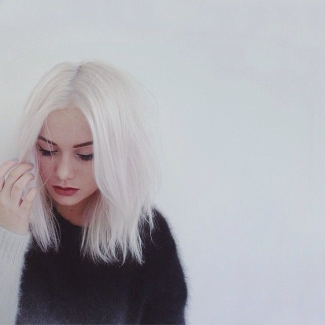 iamcharlottemartin.com - white hair perfection | hair | Pinterest ...