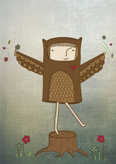 Little Owl Girl Produits et technologie, Petites chouettes et Filles