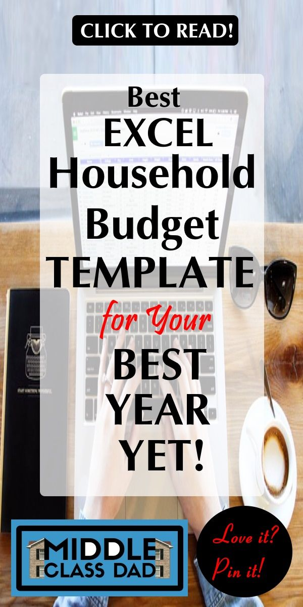 Best Excel Household Budget Template for Your Best Year Yet - household budget excel spreadsheet
