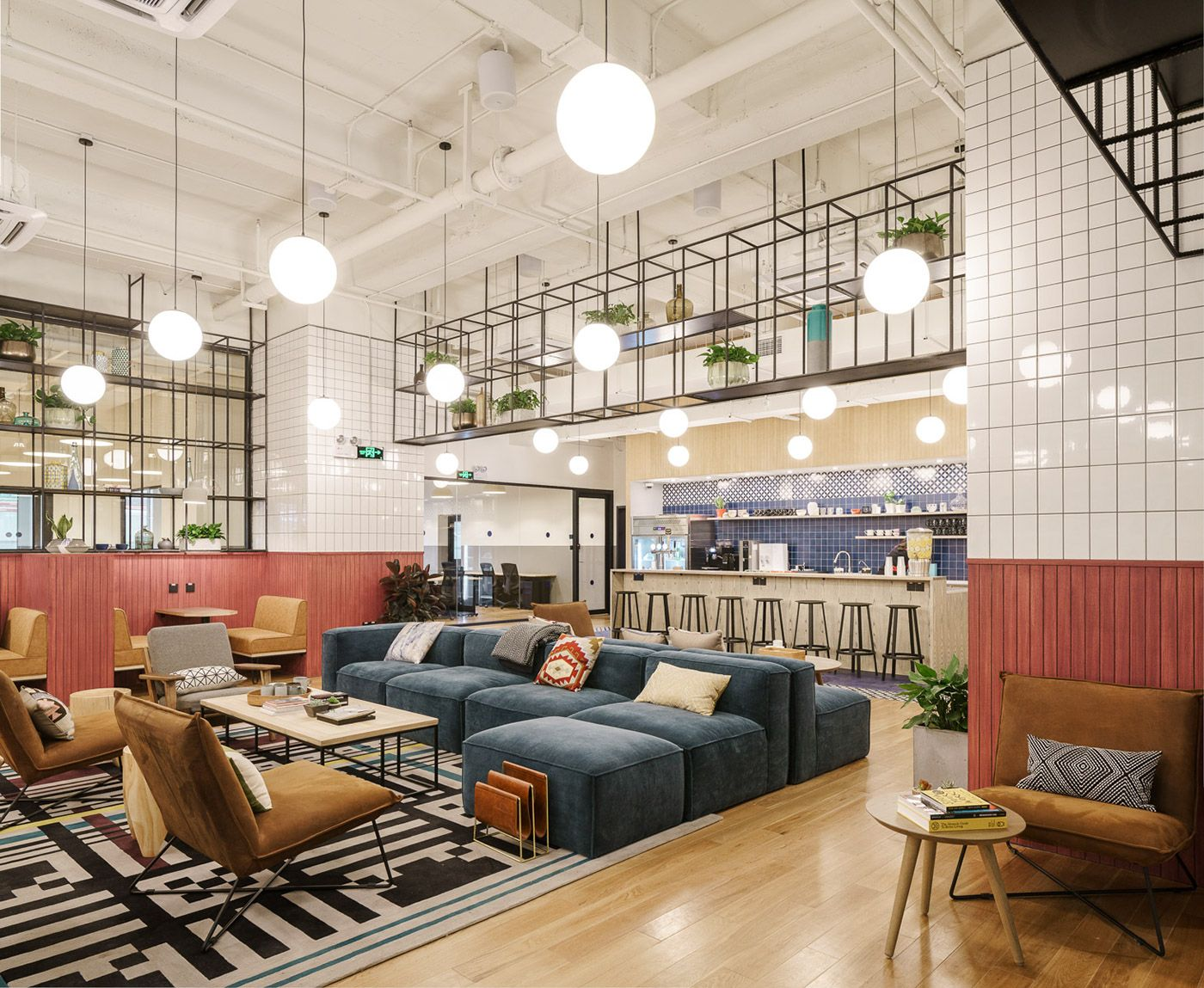 Photo C Seth Powers Architecture Photographer In Shanghai Wework East Yanan Road Brings Modern Office Interior Design Modern Office Space Office Space Design