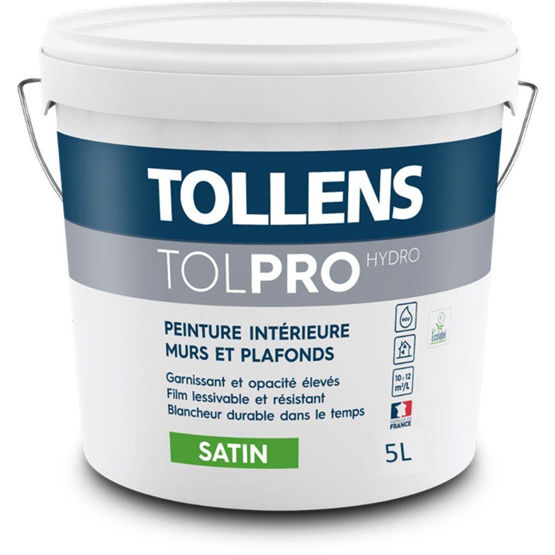 Ou Trouver La Peinture Tollens peinture, blanc, murs et plafonds tolpro hydro tollens