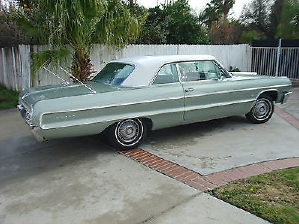 1964 Chevy Impala Coupe Laurel Green