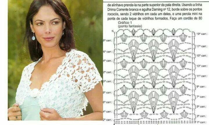 Stitch crochet pattern women | Encajes | Pinterest | Encaje
