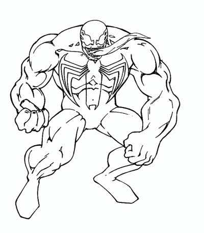 cb9a5019fd90561eab5cc6f7f4b84166 » Venom Spiderman Coloring Pages