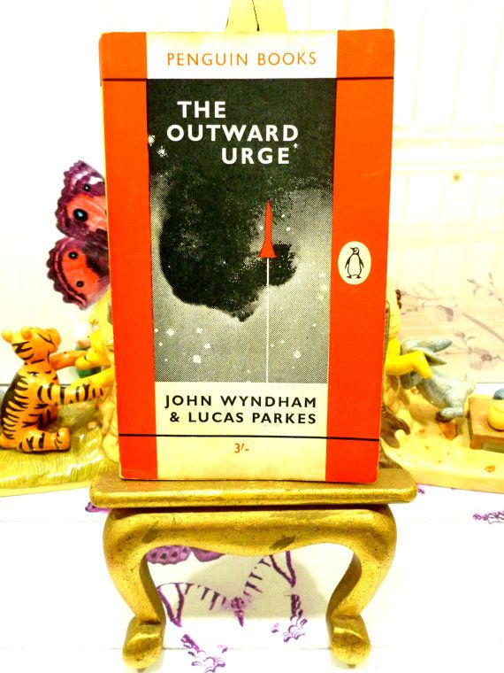 The Outward Urge Vintage Penguin Orange Paperback by KittysTales
