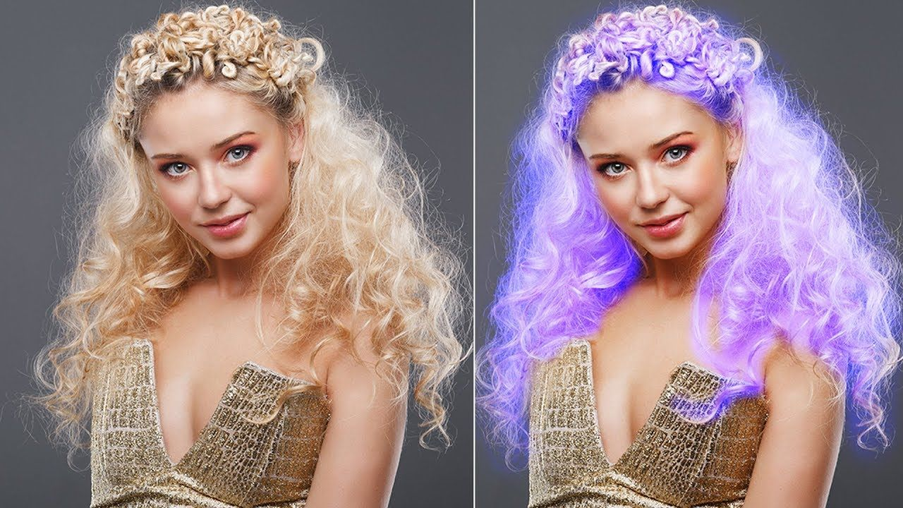 How To Change Hair Color In Photoshop Photoshop Hair Color Tutorial Change Hair Color Change Hair Photoshop Hair
