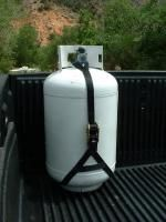 Tailgater Propane Tank Tie Down Strap For Pick Up Trucks Home Propane Tank Recreational Vehicles Rv Accessories