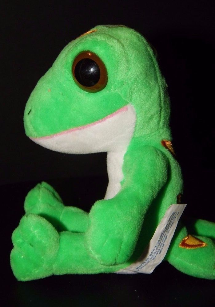 geico insurance advertisement plush geeko gecko 5 soft stuffed
