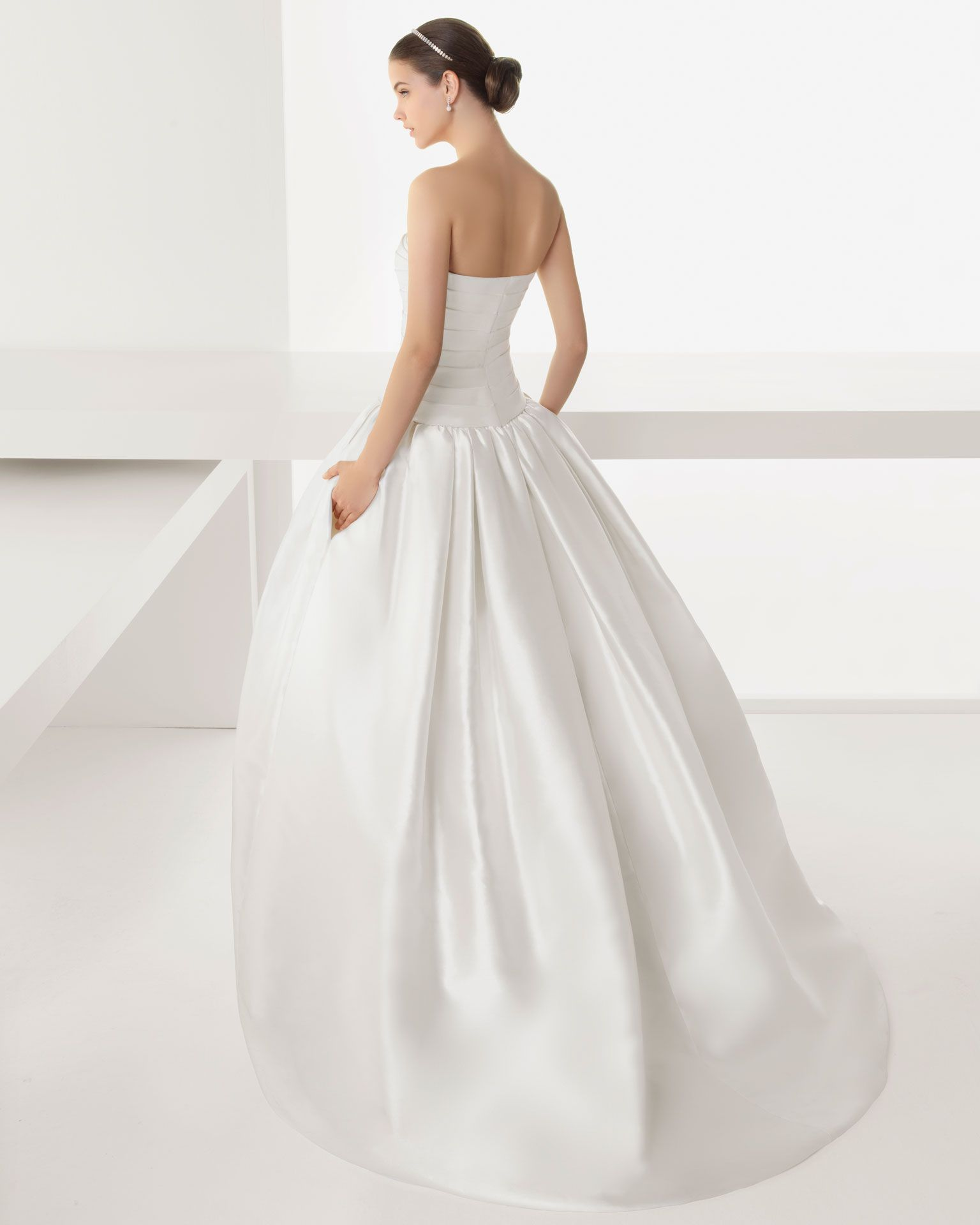 Rosa clara back dream gown back my wedding pinterest rosa