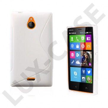 Lagerlöf (Valkoinen) Nokia X2 Suojakuori