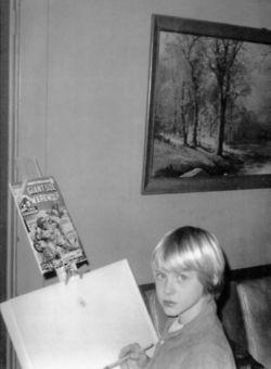 Little Kurt Cobain (8 years old)