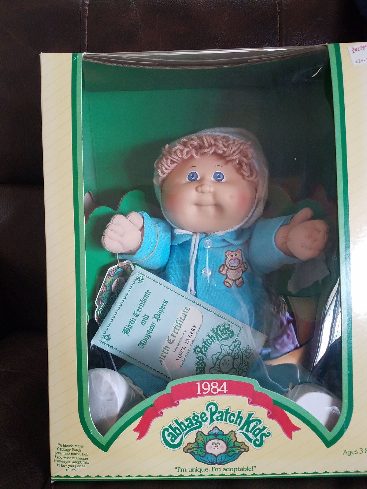 Nib Vintage Cabbage Patch Doll On Mercari Cabbage Patch Kids Dolls Vintage Cabbage Patch Dolls Cabbage Patch Kids