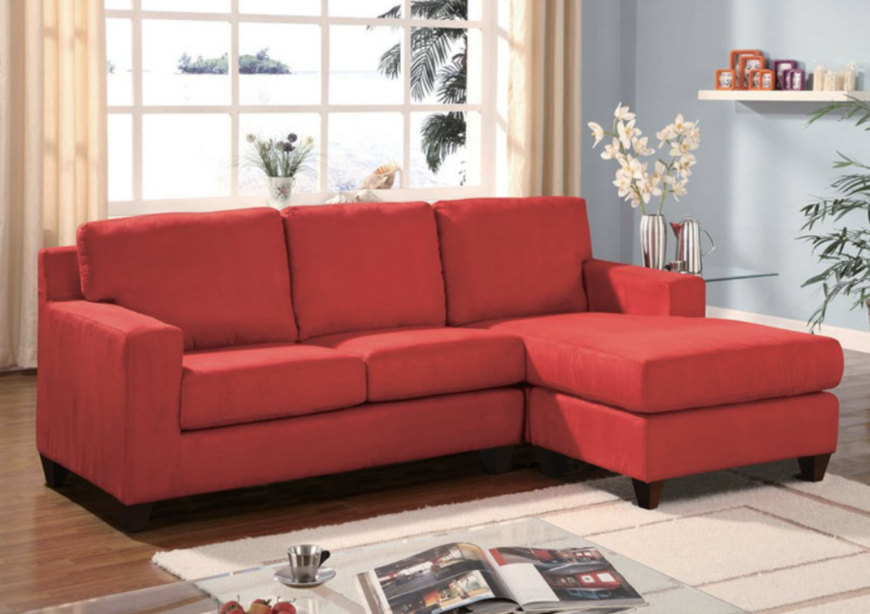 6 Types Of Small Sectional Sofas For Small Spaces Red Sectional Sofa Small Sectional Sofa Sectional Sofa