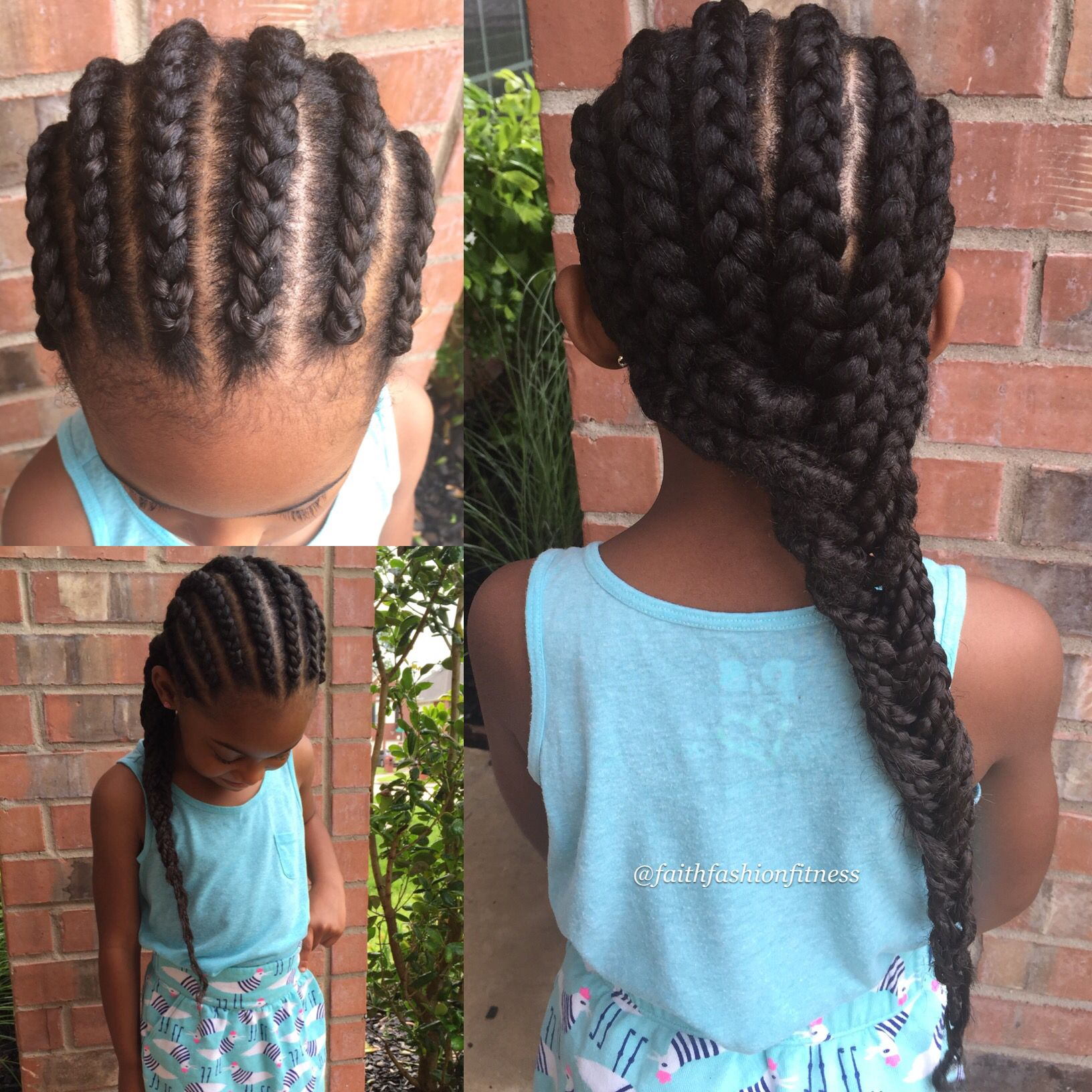 Cornrows with extensions natural hairstyle protective styling kids cornrows with extensions natural hairstyle protective styling kids natural hair pmusecretfo Choice Image