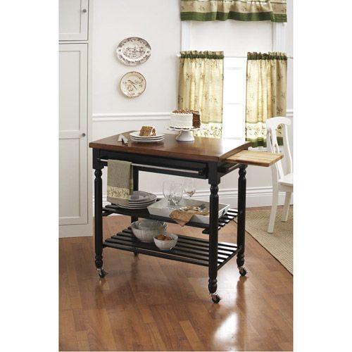 kitchen cart/ island. Walmart, who knew? 149 Kitchen