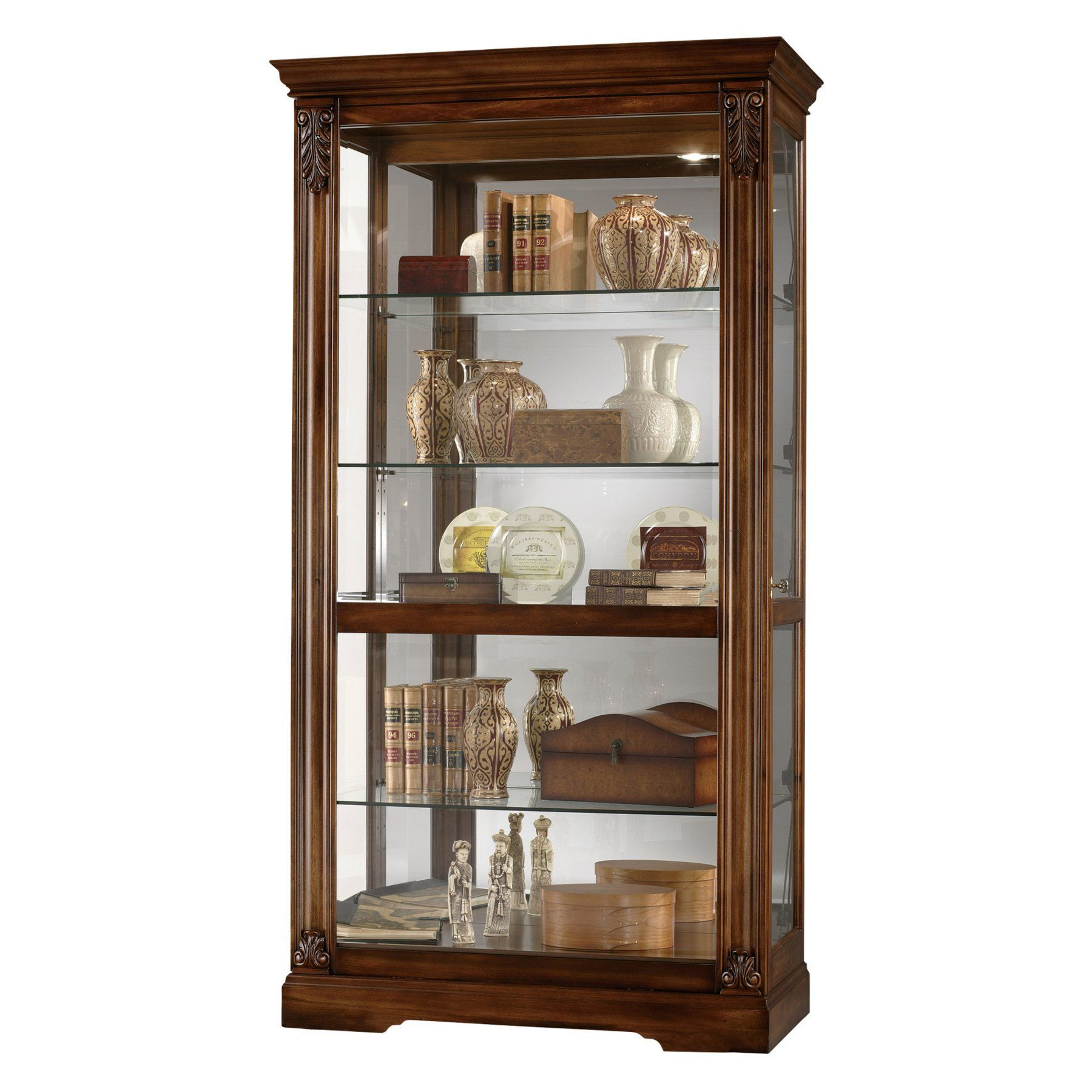 Andreus Curio Cabinet Curio Cabinet Furniture Trends China Cabinet