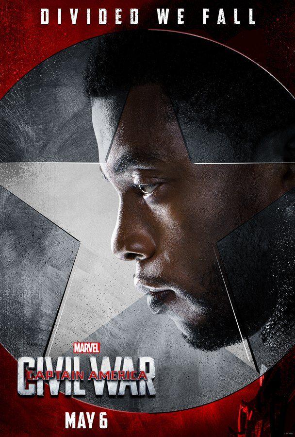 Captain America: Civil War - Team Iron Man - Black Panther