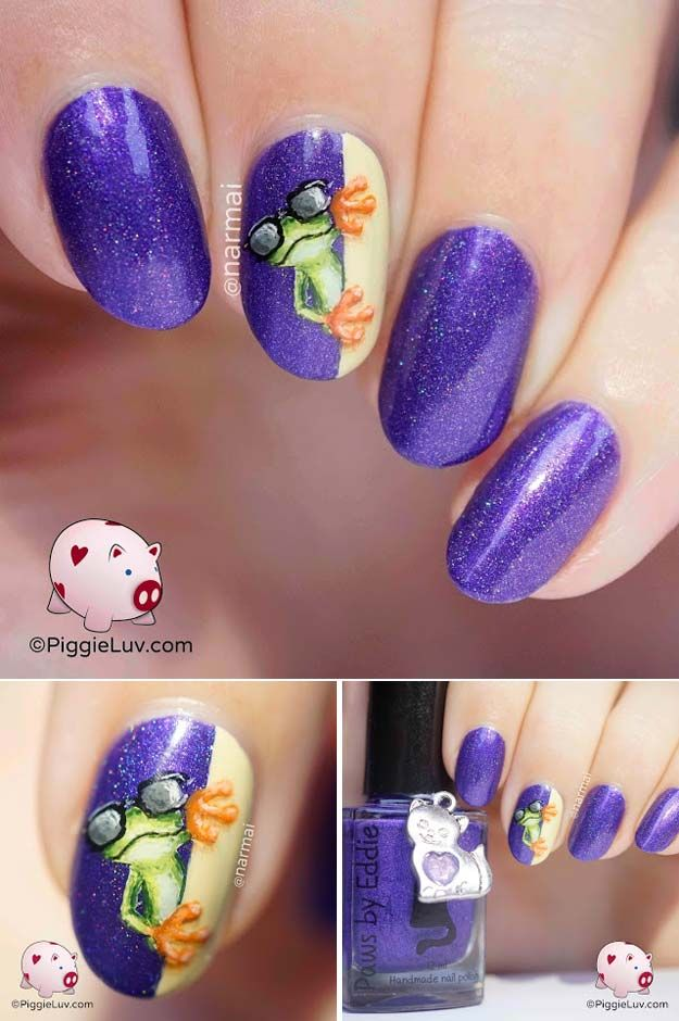 31 nail art designs for your beach vacation pinterest glitter 31 nail art designs for your beach vacation pinterest glitter pedicure toe nail art and ring finger solutioingenieria Gallery