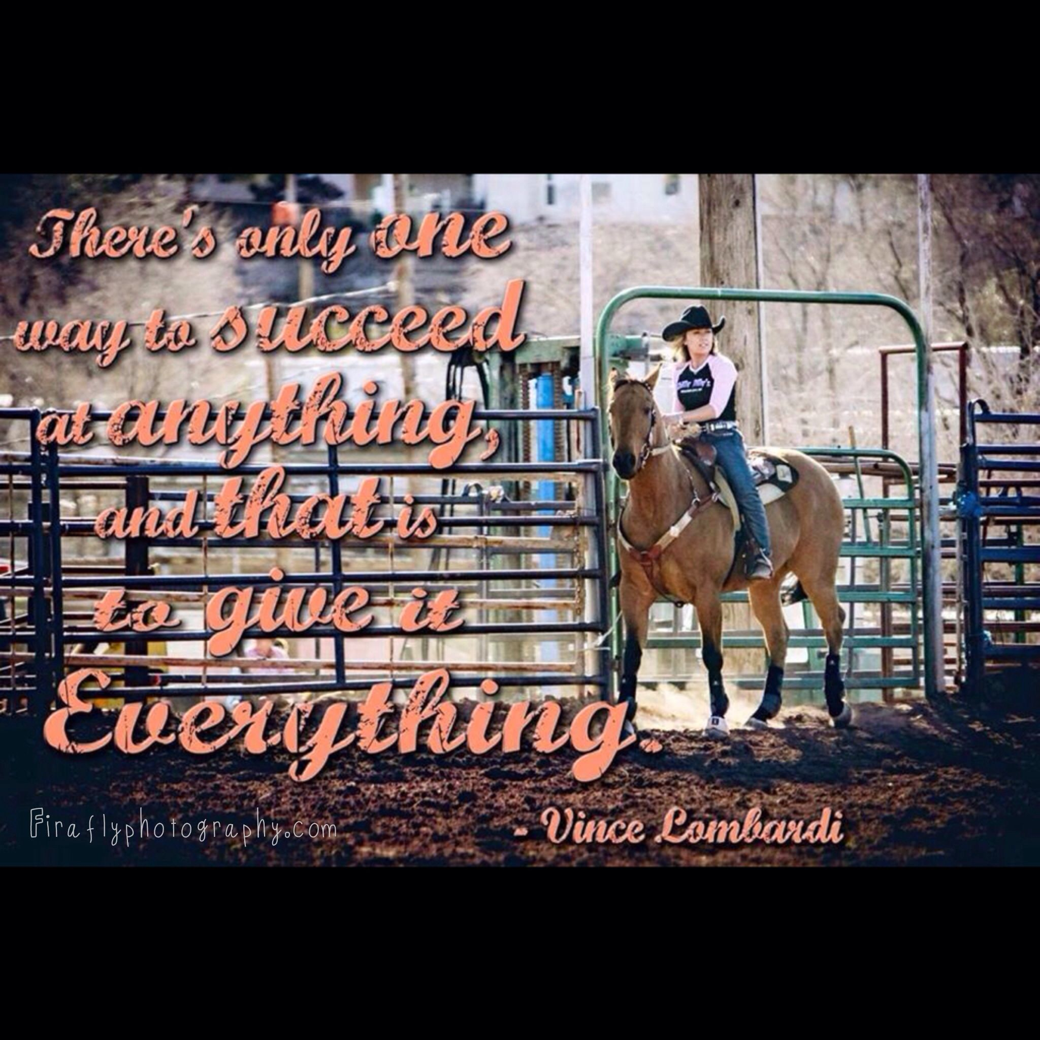Barrel racing quote with Tilly Jenski Barrel racing