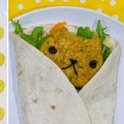 Meatless Monday: Cute Falafel Wraps -Craftster blog