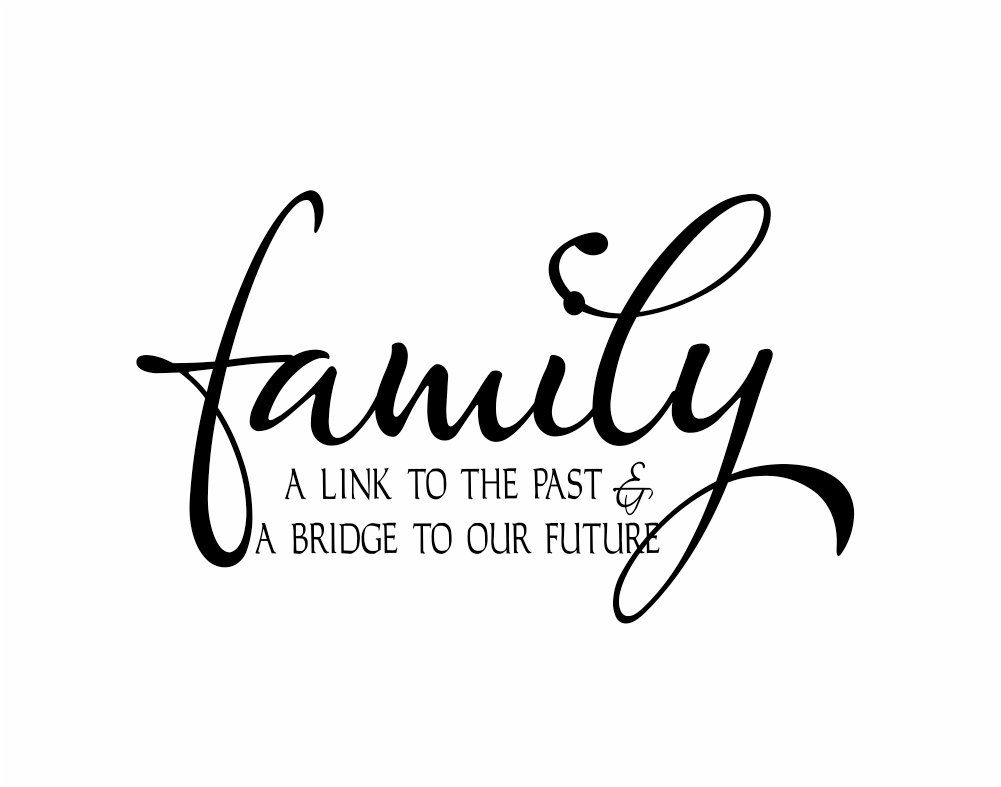 Family Wall Decal Vinyl Wall Quote Saying For Living Room Family - Custom vinyl wall decals sayings for family room