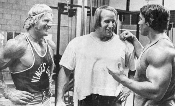 Dave Draper, Mike Katz, Arnold Schwarzenegger   Dave ...