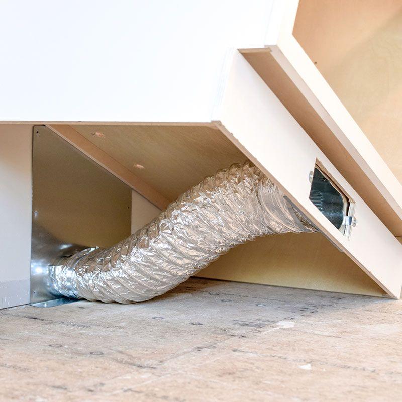 Toe Ductor Wall Vent Kits Toe Kick Ductor Wall Vents Floor Vents Heat Vents