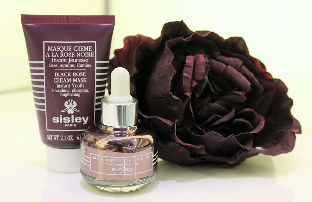 Beauty by MCM: Sisley Black Rose Cream Mask and NEW Black Rose Precious Face Oil. Every women should have these two! <3 http://beautybymcm.blogspot.fi/