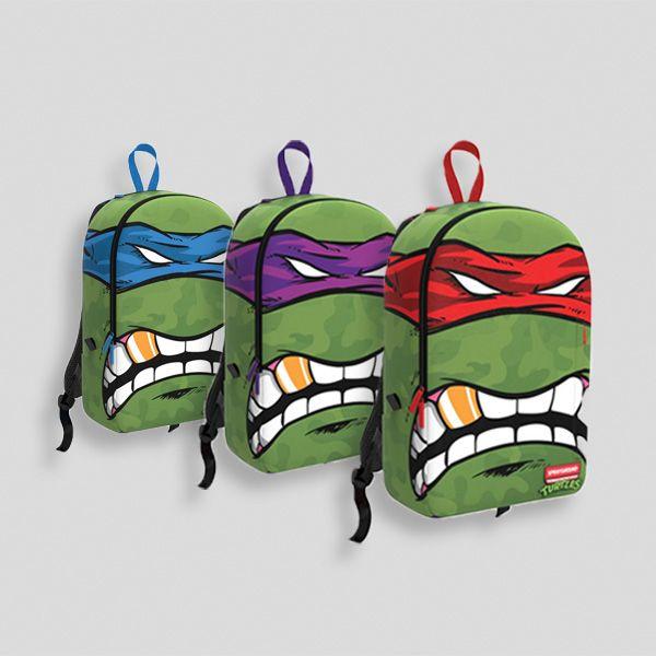 """[Sponsored]  Sprayground """"Teenage Mutant Ninja Turtles"""" Backpacks"""