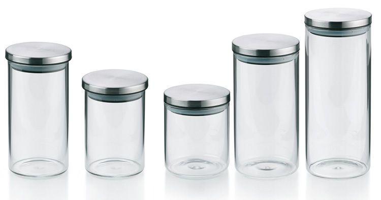 3er Vorratsglaser Vorratsdosen Glas Behalter Set Aufbewahrung