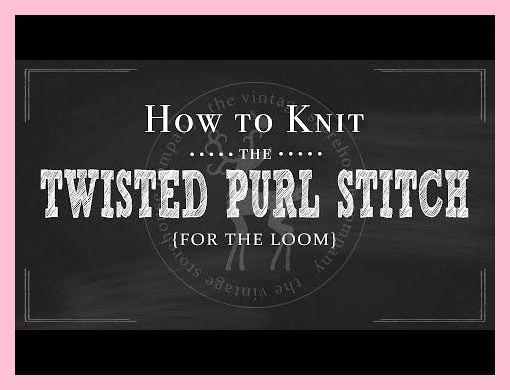 Loom Knitting 101: Hoe u de gedraaide averechte steek breit {Deel 6 van 12} - YouTube ,  Loom Knitting 101: Hoe u de gedraaide averechte steek breit {Deel 6 van 12} - YouTube ,