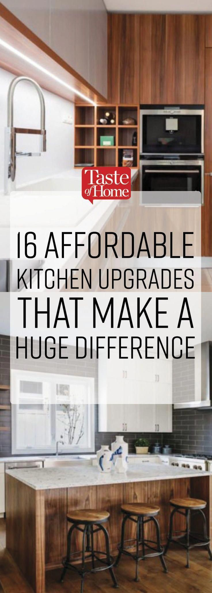 16 Low Cost Kitchen Upgrades That Make A Huge Difference
