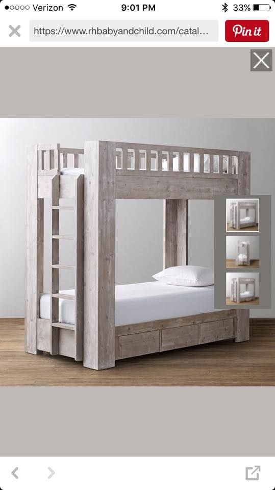 Rustic Modern Bunk Bed Cool Bunk Beds Bunk Beds With Storage